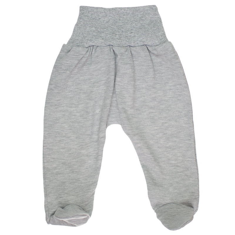 Pants with feet - gray (Sizes: 56., 62., 68.)