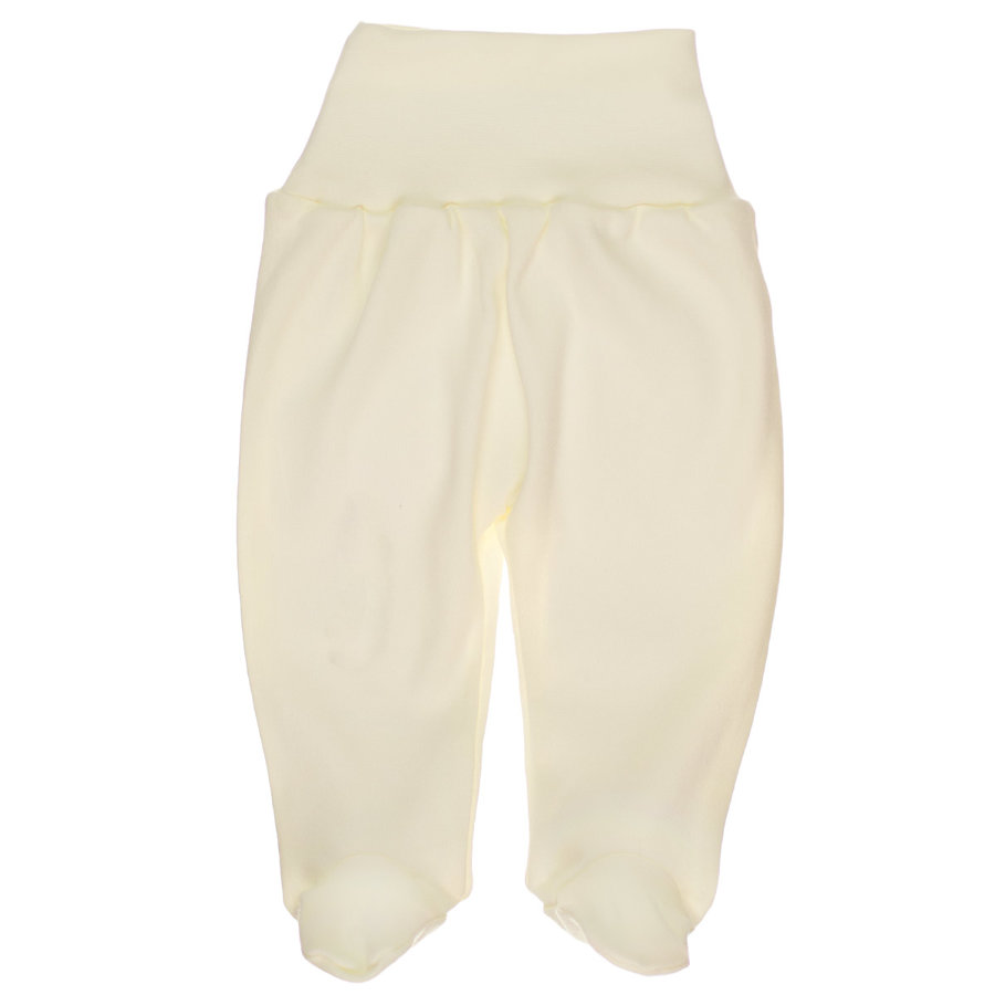 Pants with feet - cream (Sizes: 56., 62., 68.)
