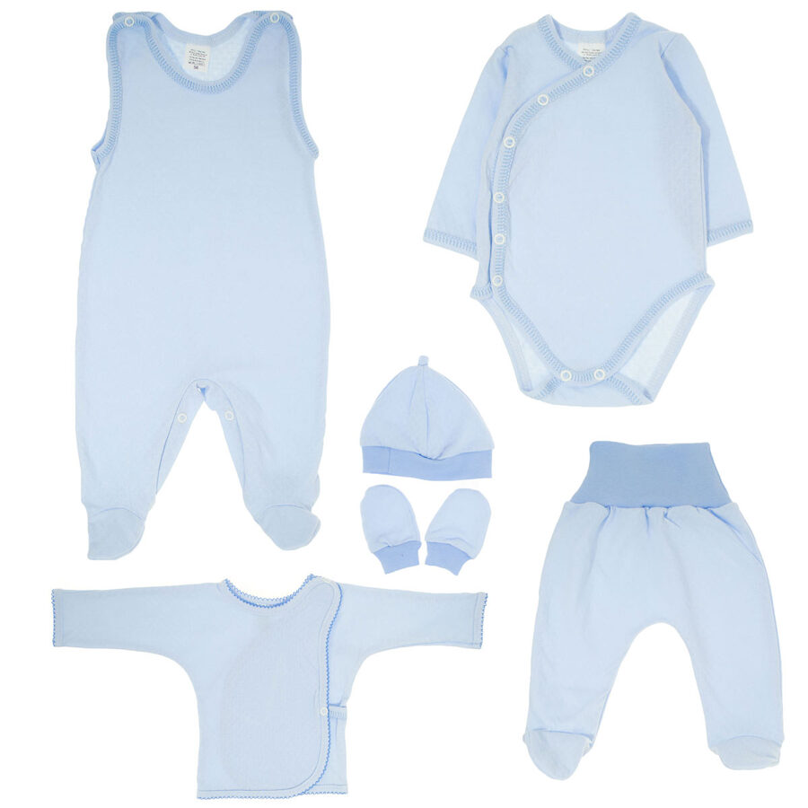 First set for baby BLUE (Size: 50.)