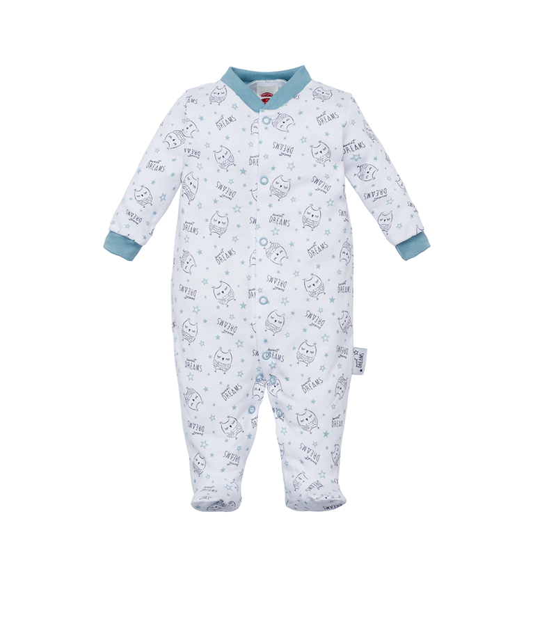 Sleepsuit SWEET DREAMS - owls (Sizes: 56., 62., 68.)