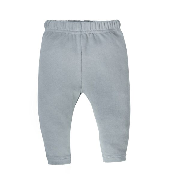 Pants without feet FEATHERS - gray (Sizes: 62., 68., 74.)