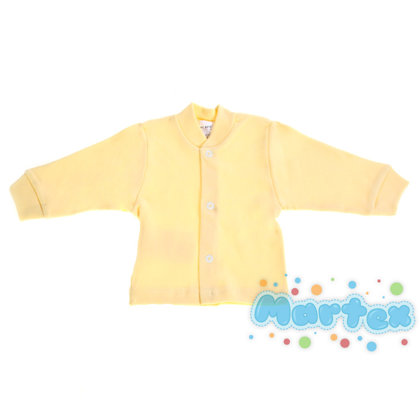 Solid color jacket - yellow (Size: 68.)