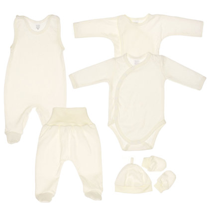 6-piece set - CREAM (Sizes: 50., 62.)