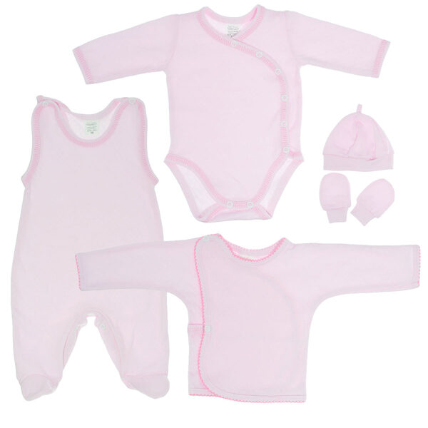 First set for baby PINK (Sizes: 50., 56.)