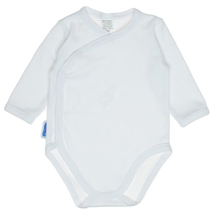 Solid color bodysuit - white (Size: 62.)