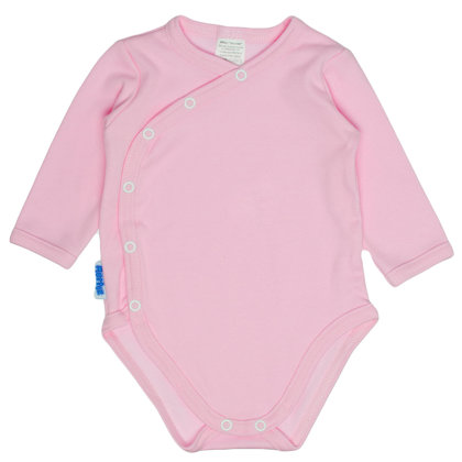 Solid color bodysuit - pink (Sizes: 56., 62., 68.)