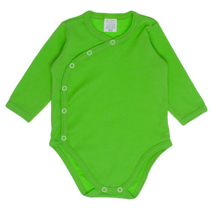 Solid color bodysuit - green (Sizes: 56., 62., 68.)