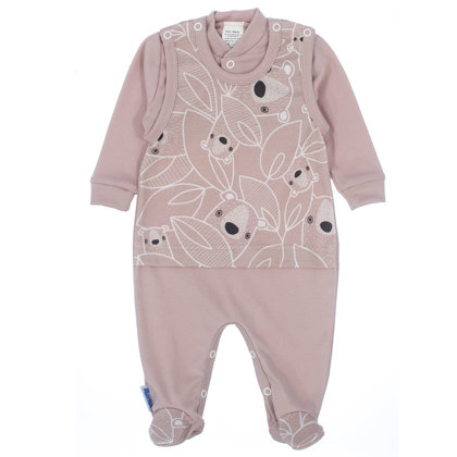 Romper and jacket KOKA (Sizes: 56., 62., 68.)