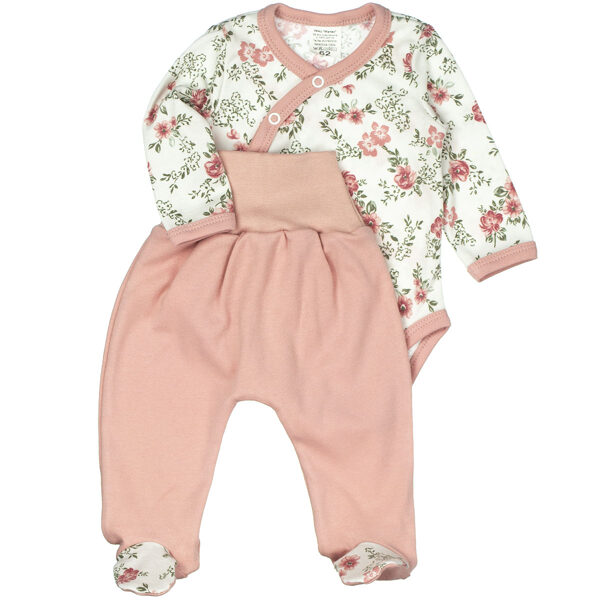 Bodysuit and pants ROSES (Size: 68.)