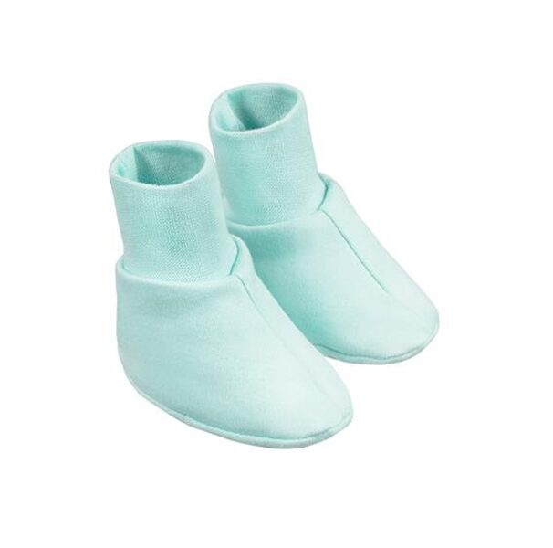 Baby booties -  turquoise (One size)