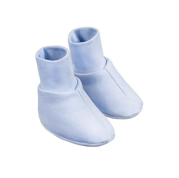 Baby booties - blue (One size)