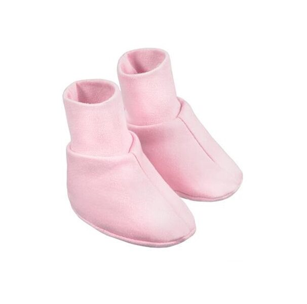Baby booties - pink (One size)