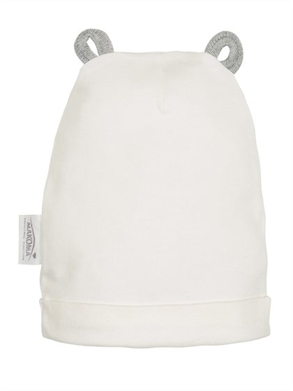 Organic cotton hat RABBIT (Sizes: 62., 68.)