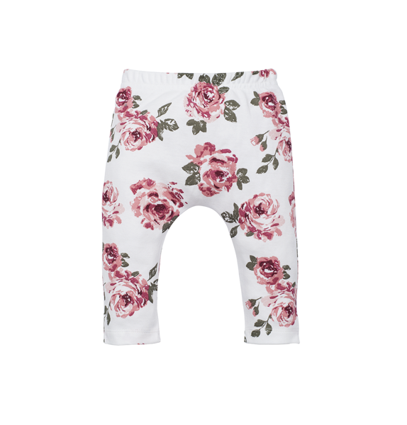Pants without feet ROSES (Sizes: 62., 68.)