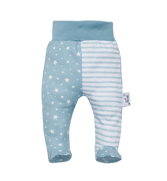 Pants with feet SWEET DREAMS (Sizes: 56., 62., 68.)