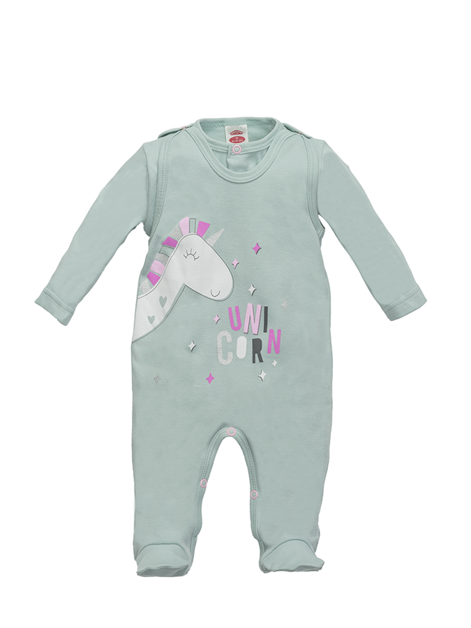 Romper and jacket UNICORN (Sizes: 56., 62., 68.)