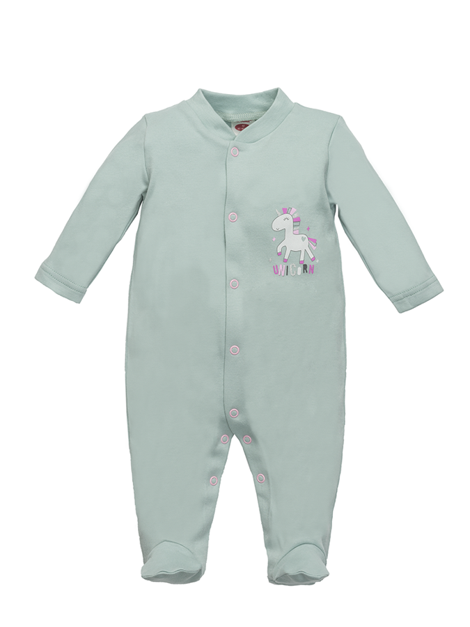 Sleepsuit with footies UNICORN (Size: 68., 74.)