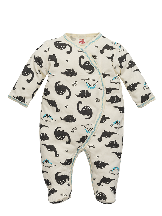 Sleepsuit with footies DINOSAUR (Size: 74.)