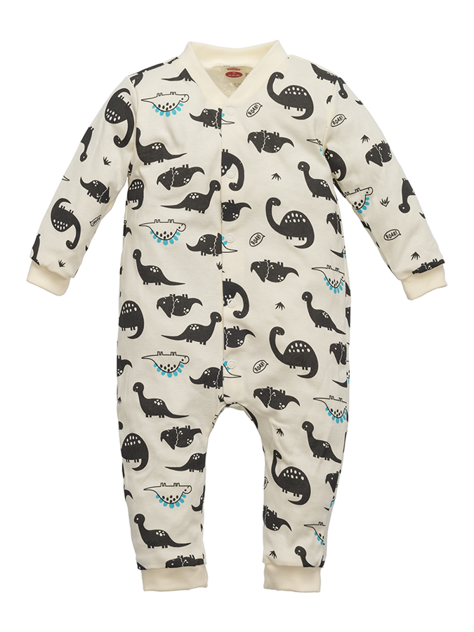 Sleepsuit without footies DINOSAUR (Sizes: 74., 80., 86.)