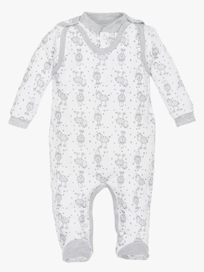 Romper and jacket LITTLE SHEEP (Size: 74.)