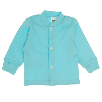 Solid color jacket - turquoise blue (Size: 56.)