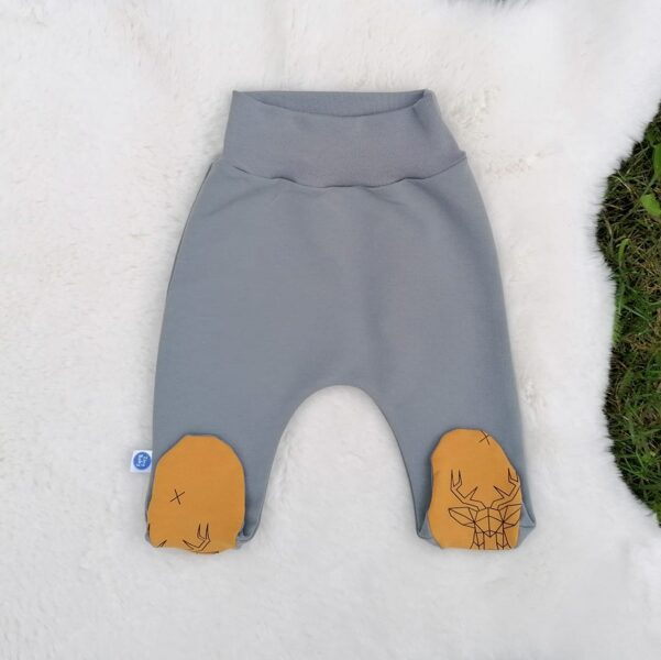 Pants with feet DEERS P (Sizes: 56., 62.)