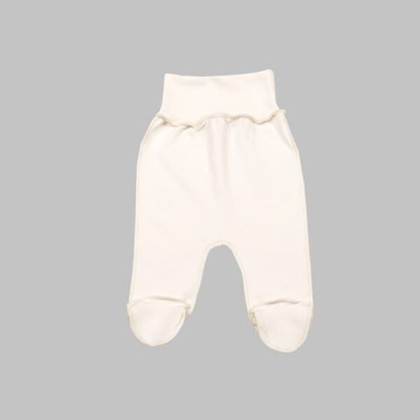 Pants with feet - cream (Size: 56.)