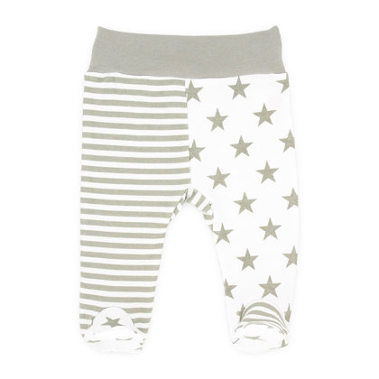 Pants with feet OWL (Size: 62.)