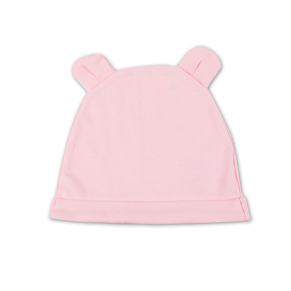 Hat with ears PINK (Sizes: 38cm, 40cm, 42cm)