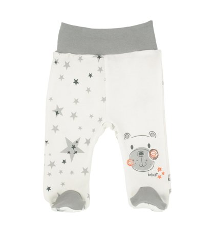 Pants with feet STARS/BEARS (Sizes: 56., 62., 68.)