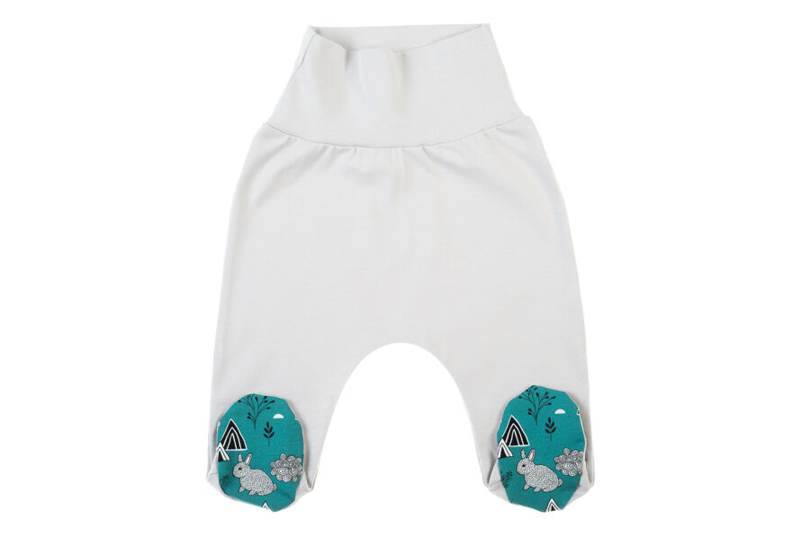 Pants with feet TINY BABY (Size: 62.)