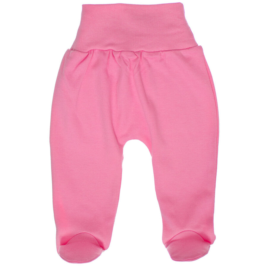 Pants with feet - pink